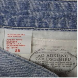 Ag Adriano Goldschmied Skirts - AG BOX VINTAGE SKIRT FACTORY DISTRESSED sz 28 US 6